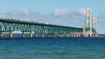 Mackinac Bridge from the South East